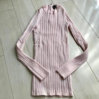 バナナリパブリック(Banana Republic)のバナナリパブリック 薄ピンク セーター ニット(ニット/セーター)