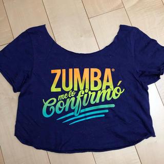 ズンバ(Zumba)のZUMBAショート丈Tシャツ(S)最終お値下げ。(ダンス/バレエ)