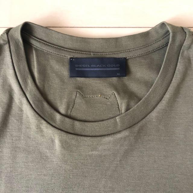 BLACK GOLD(ブラックゴールド)のDIESEL BLACK GOLD メンズTシャツ メンズのトップス(Tシャツ/カットソー(半袖/袖なし))の商品写真
