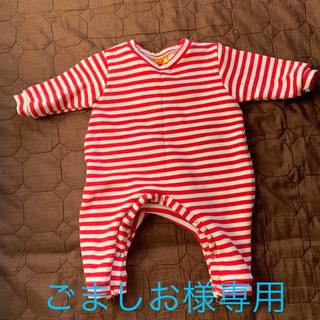 韓国子供服 赤ちゃん ロンパース 帽子付き