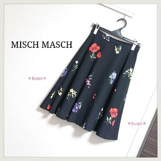 MISCH MASCH - MISCH MASCH*フラワーフレアスカート