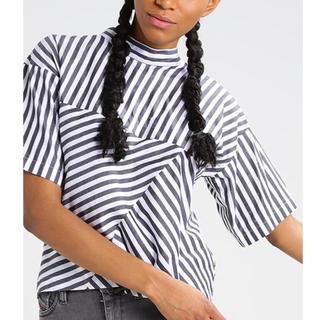 ディーゼル(DIESEL)のDiesel ブラウス カットソー 新品タグ付 シャツ ストライプ(シャツ/ブラウス(半袖/袖なし))