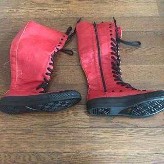 赤ブーツ(ブーツ)