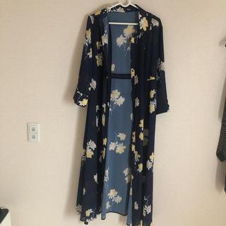 Mila Owen - ミラオーウェン/新品花柄ロングシャツ