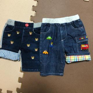 ミキハウス(mikihouse)のミキハウス プッチー 刺繍パンツ セット(パンツ)