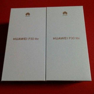 ANDROID - 新品 HUWEI P30 lite Peacock Blue