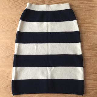 BEAUTY&YOUTH UNITED ARROWS - BEAUTY & YOUTH ニットボーダースカート