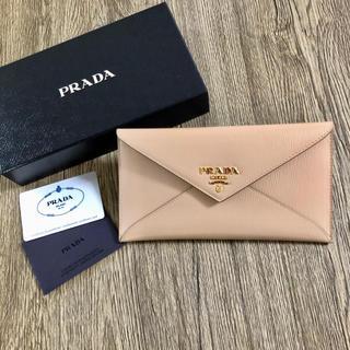 PRADA - 再入荷 プラダ レア 長財布 サフィアーノ レター ベージュ cipria