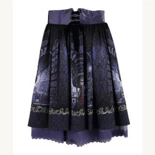 axes femme - リブラリーアレースアップスカート