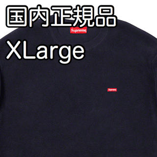 Supreme - Supreme Polartec Small Box Crewneck シュプ