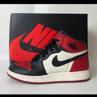 ナイキ(NIKE)のNIKE AIR JORDAN 1 RETRO HIGH OG BG 23.5(スニーカー)
