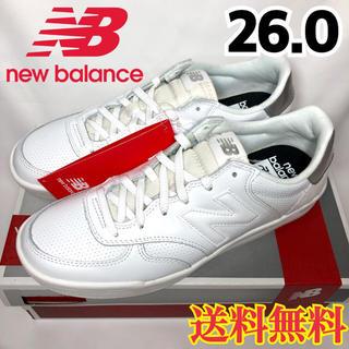 ニューバランス(New Balance)の【新品】ニューバランス  スニーカー  ホワイト  WRT300WM  26.0(スニーカー)