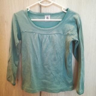 プチバトー(PETIT BATEAU)のプチバトー 長袖シャツ 4ans/102(Tシャツ/カットソー)