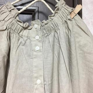 サマンサモスモス(SM2)の新品 首シャーリングワンピース(ひざ丈ワンピース)