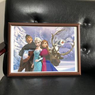 ディズニー(Disney)のディズニー絵画ポスターアナと雪の女王B4額付き(絵画/タペストリー)