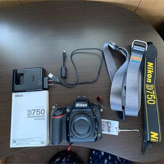 Nikon - 【美品】Nikon d750 ボディ シャッター回数少