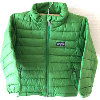 patagonia - パタゴニアキッズダウンジャケット 2T グリーン