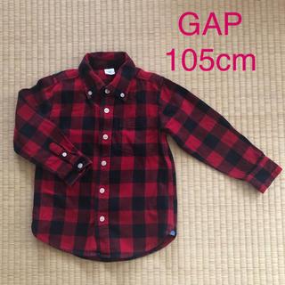 ギャップ(GAP)のGAP バッファローチェック柄シャツ 105cm (ブラウス)