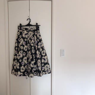 GRACE CONTINENTAL - グレースコンチネンタル ジャガードスカート36