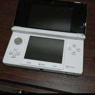 ニンテンドー3DS - 【美品】ニンテンドー3DS アイスホワイト