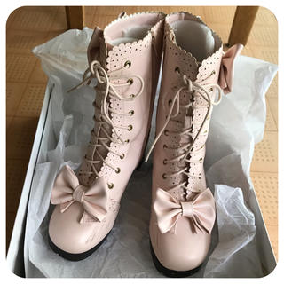 ユメテンボウ(夢展望)のブーツ  23.5cm   夢展望   送料込 (ブーツ)