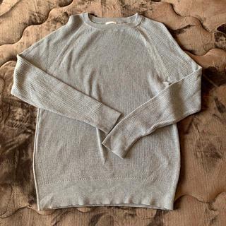 GU - GU メンズグレーセーター Lサイズ
