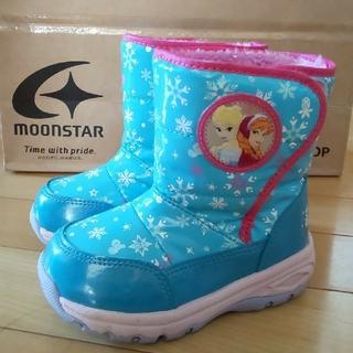 ムーンスター(MOONSTAR )のアナ 雪 ブーツ スパイク付 15cm(ブーツ)
