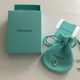 ティファニー(Tiffany & Co.)のお値下げ中です◡̈❤︎ティファニーラビングハートネックレス(ネックレス)