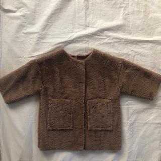 キャラメルベビー&チャイルド(Caramel baby&child )のkids fur coat 韓国子供服 XS(コート)