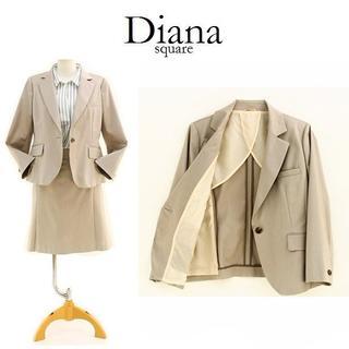 新品 15号 コナカ Diana STRETCH ベージュスーツ(スーツ)