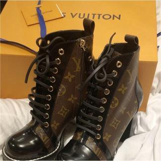 LOUIS VUITTON - 購入禁止! スタートレイルラインアンクルブーツ