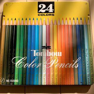 トンボエンピツ(トンボ鉛筆)のトンボ TOMBOW 色鉛筆12色(色鉛筆)