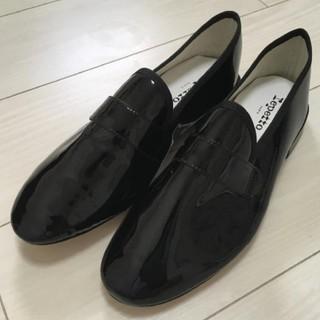レペット(repetto)のreppetto マイケル 40 裏張り済 美品(ローファー/革靴)