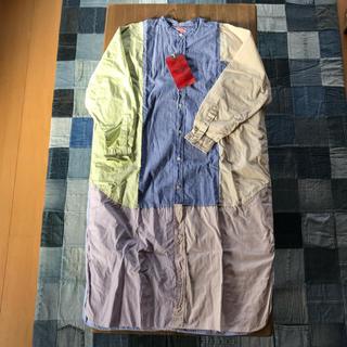 デニムダンガリー(DENIM DUNGAREE)のデニム&ダンガリー 160 シャツワンピース 未使用(Tシャツ/カットソー)