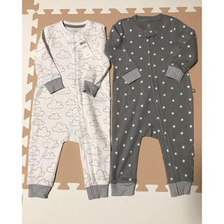 babyGAP - GAPベビー新品ロンパース2枚セット