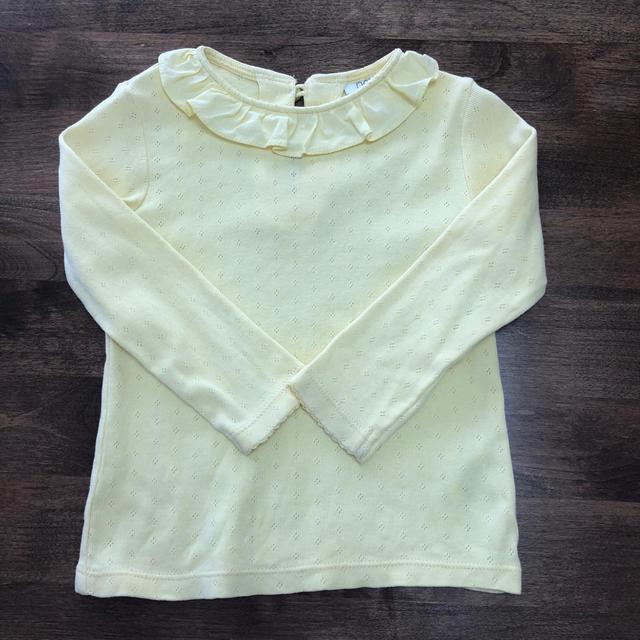 NEXT(ネクスト)のフリル襟トップス キッズ/ベビー/マタニティのベビー服(~85cm)(シャツ/カットソー)の商品写真