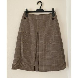 ニューヨーカー(NEWYORKER)のNew Yorker ブラウンチェックスカート(ひざ丈スカート)