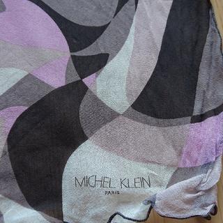 ミッシェルクラン(MICHEL KLEIN)のスカーフ(バンダナ/スカーフ)