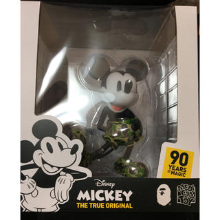 MEDICOM TOY - VCD BAPE MICKEY MOUSE  /  GREEN
