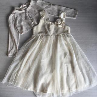 エイチアンドエム(H&M)のH&M ドレスset  100~120cm位 (ドレス/フォーマル)