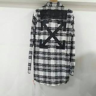 人気推薦★超美品 オフホワイト シャツ
