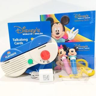 Disney - 【キレイ!】2017年購入!ディズニー英語システム 両面デジタルトークアロング