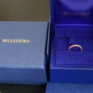 ベルシオラ 18kピンクサファイア #3(リング(指輪))