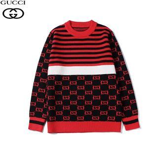 Gucci - 【赤L】グッチGUCCI セーター男女兼用