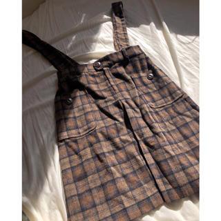 カスタネ(Kastane)のkastane 🌿 2wayジャンパースカート(ひざ丈スカート)