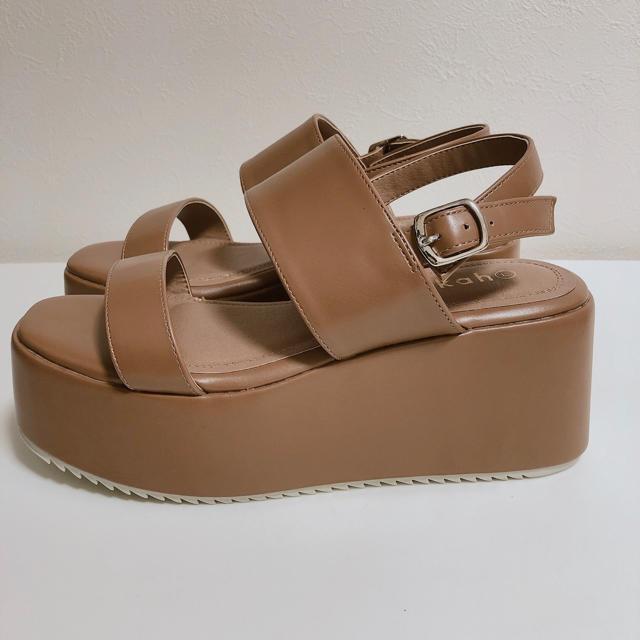 WEGO(ウィゴー)の新品 ウィゴー サンダル  レディースの靴/シューズ(サンダル)の商品写真