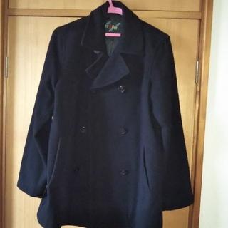 EASTBOY - イーストボーイ♪ピーコート 黒ブラック 11号 Lサイズ