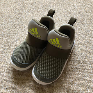 adidas - adidas◆スリッポン17cm◆アディダス 男の子