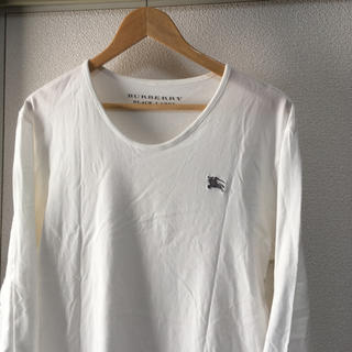BURBERRY BLACK LABEL - BURBERRY BLACKLABEL カットソー L ロングTシャツ