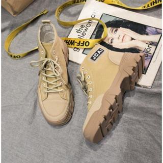 レディース 靴 ハイカット 軽い 厚底 歩きやすい 痛くない(ブーツ)